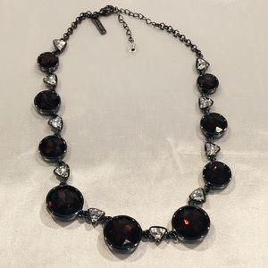 WH|BM Necklace Beautiful Glass Beveled Stones